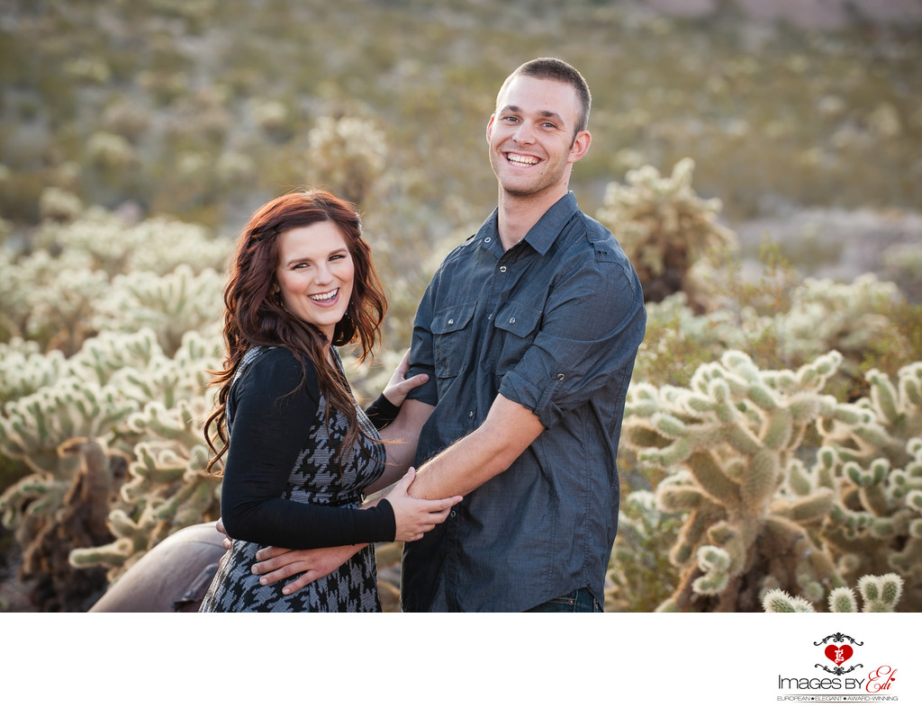 Top Las Vegas Nelson ghost town Engagement Photographer