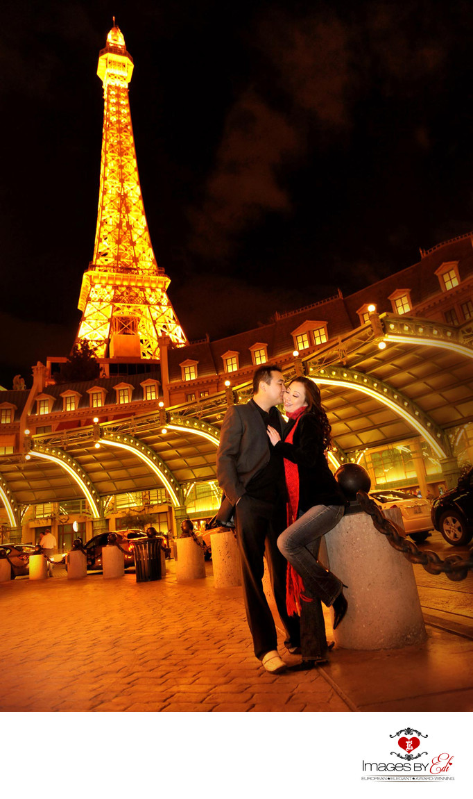 Las Vegas Strip Engagement Photography