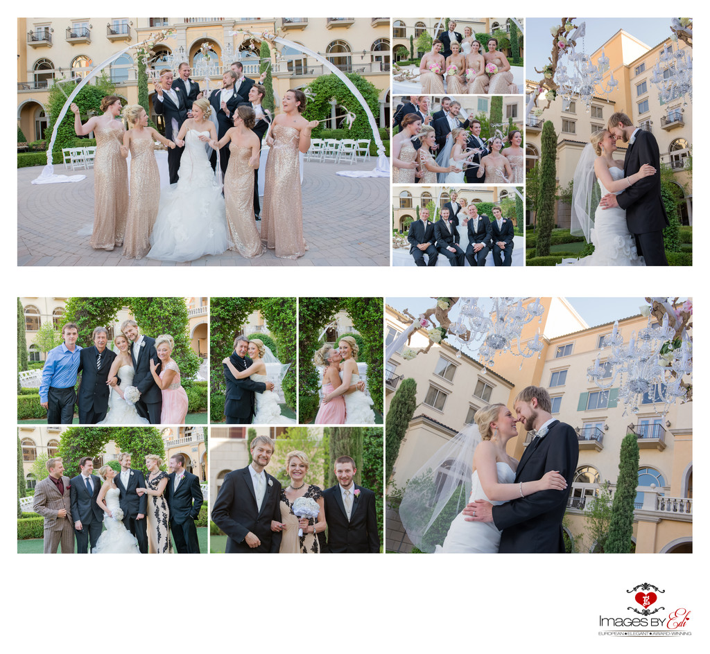 Hilton Lake Las Vegas Resort and Spa Wedding Album-Family and wedding party