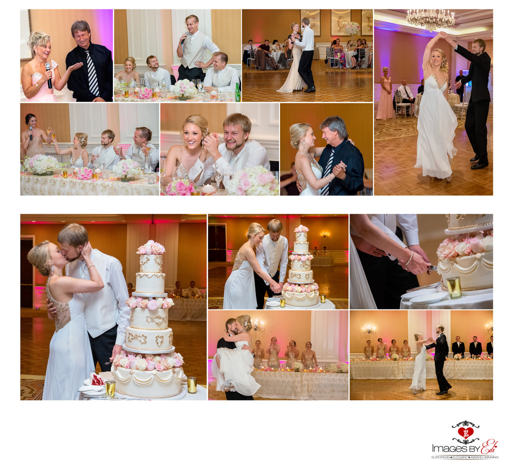 Hilton Lake Las Vegas Resort and Spa Wedding Album-wedding reception
