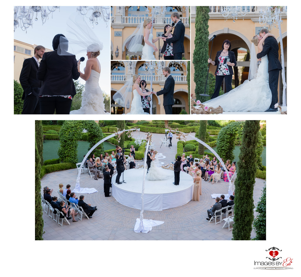 Hilton Lake Las Vegas Resort and Spa Wedding Album-ceremony Part 2.
