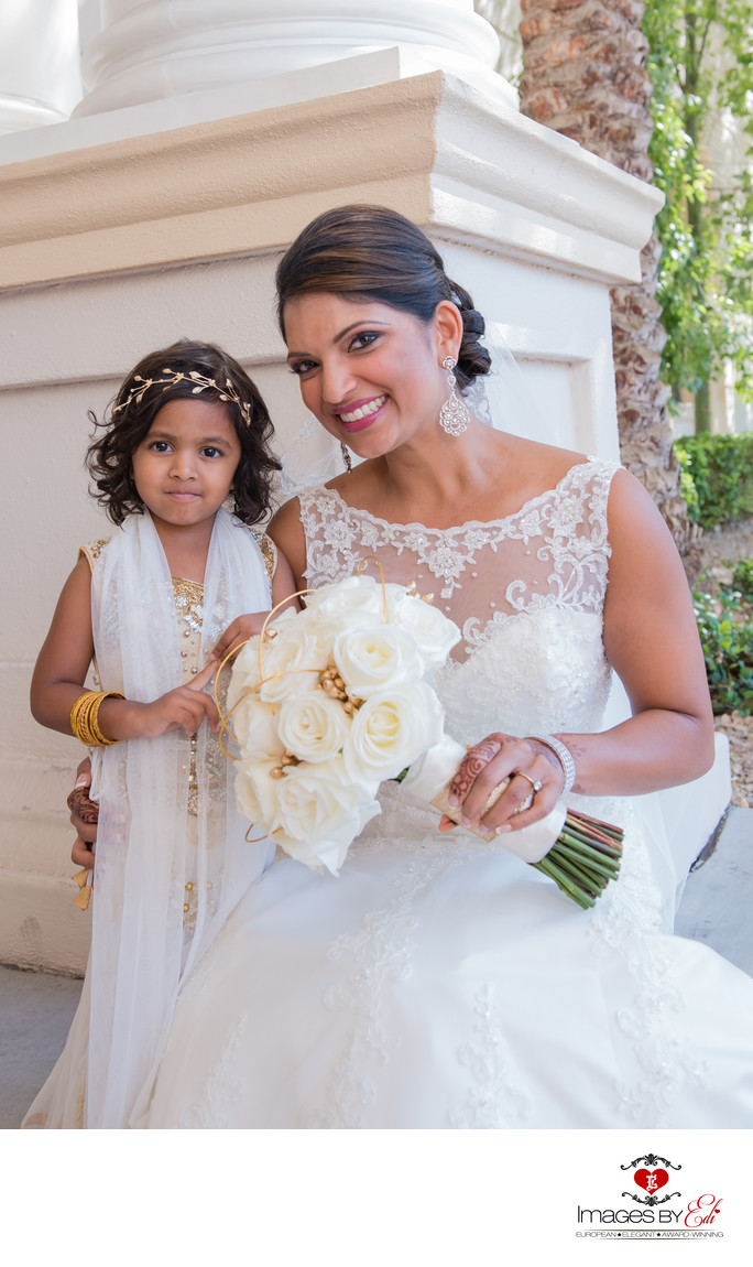 Top Las Vegas Indian Wedding Photographer at Monte Carlo Hotel and Casino in Las Vegas