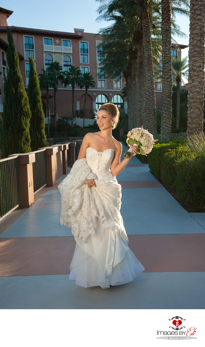 Portrait of Bride at Westin Lake Las Vegas Resort & Spa