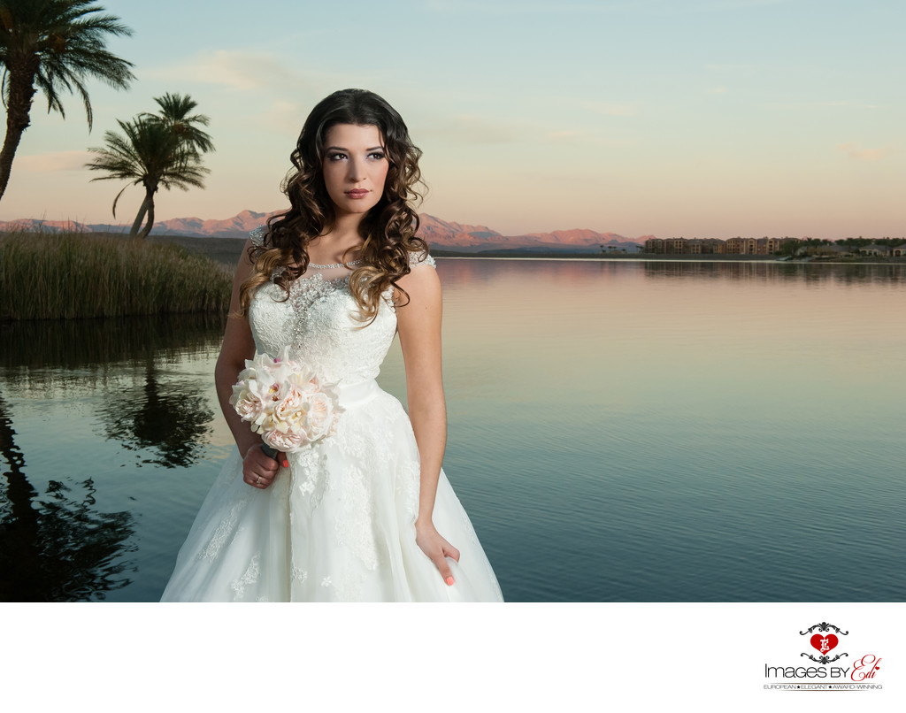 Westin Lake Las Vegas Wedding Photography at second sunset