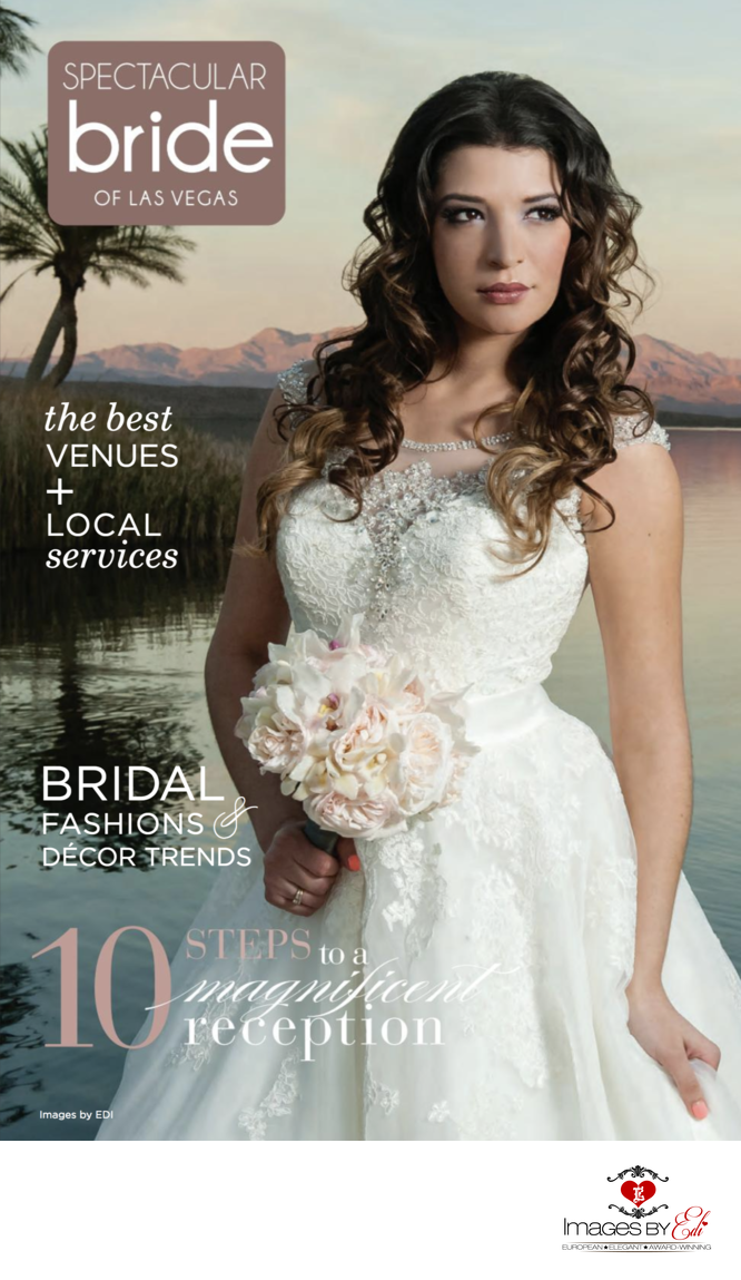 Las Vegas Wedding Photographer, Images by EDI, Spectacular Bride Cover Photographer