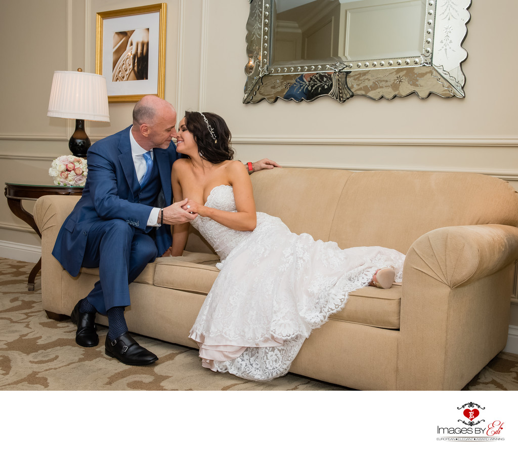 Venetian Hotel Las Vegas suite wedding