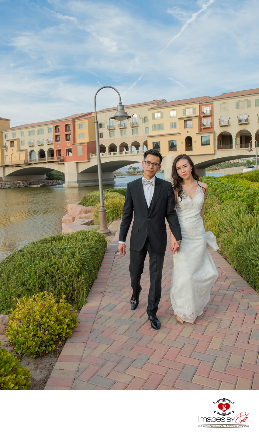 Lake Las Vegas Wedding photo