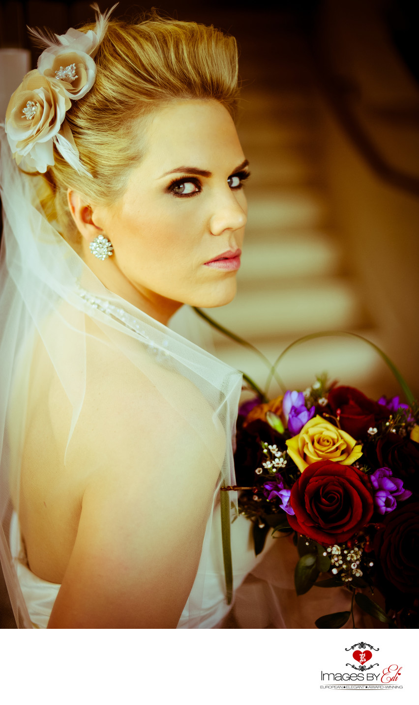 Westin Lake Las Vegas Resort and Spa Wedding Bridal Portrait