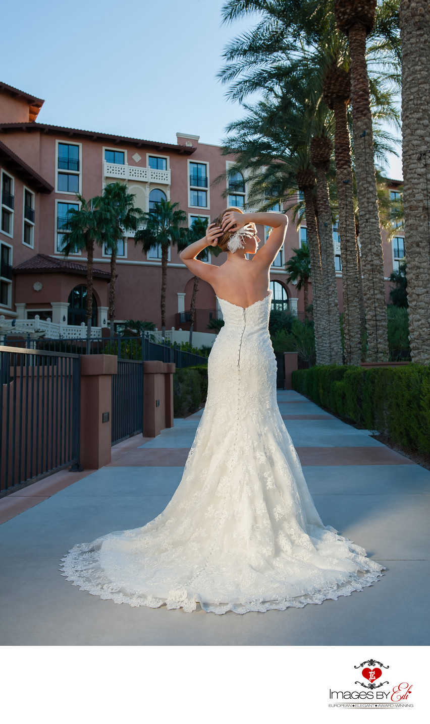 Bride at Westin Lake Las Vegas Resort & Spa | Vegas Wedding Photographer | Images by EDI