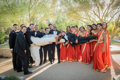 Best Indian Las Vegas Springs Preserve Wedding Photographer