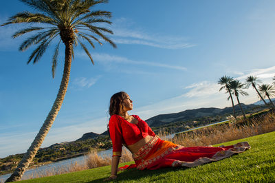 Westin Lake Las Vegas Indian Wedding Photographer