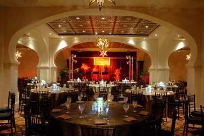 Lake Las Vegas event decor photos
