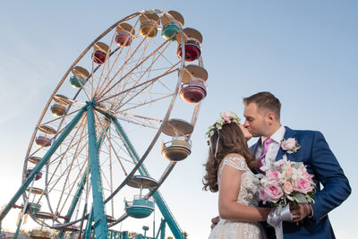 Las Vegas Wedding photo at the Fair