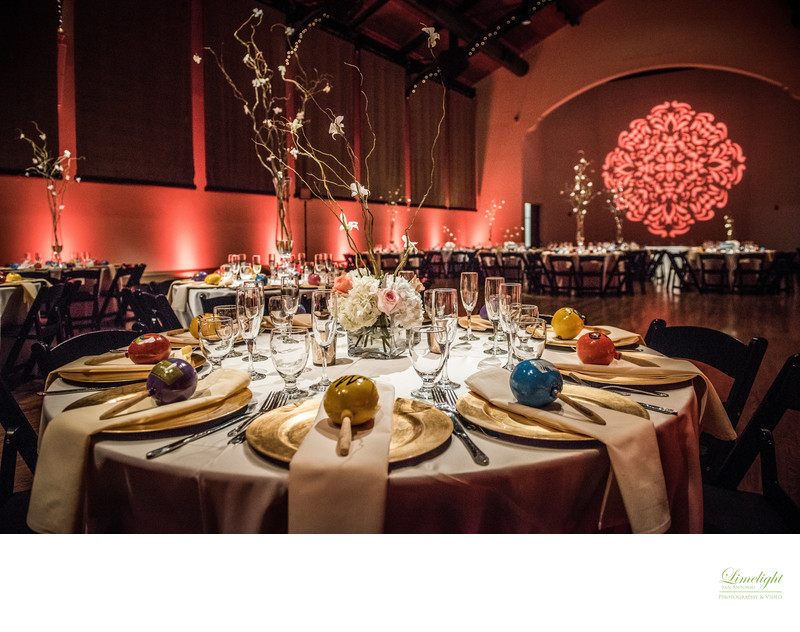 Wedding Decor at McNay Museum
