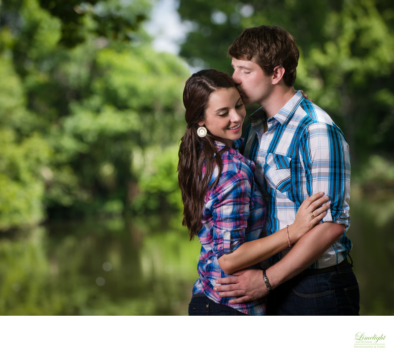 Botanical Gardens Engagement Session