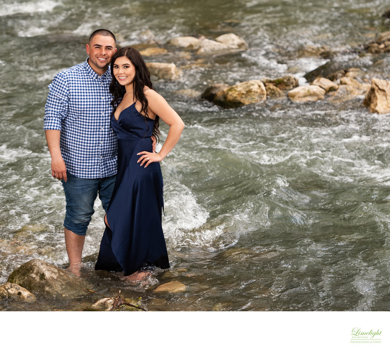 Engagement Portraits at Gruene, Texas