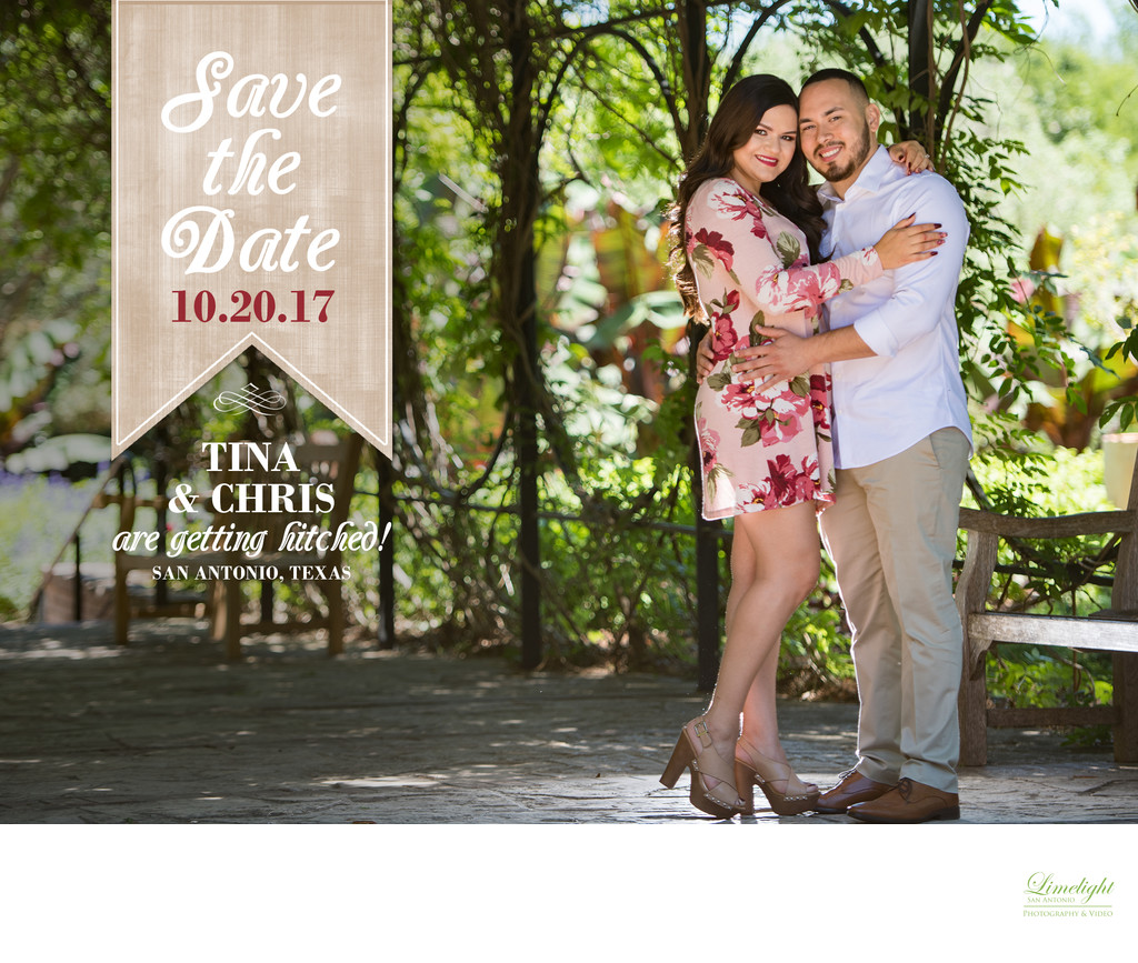 Save the Dates Cards | Limelight San Antonio Photography and Video