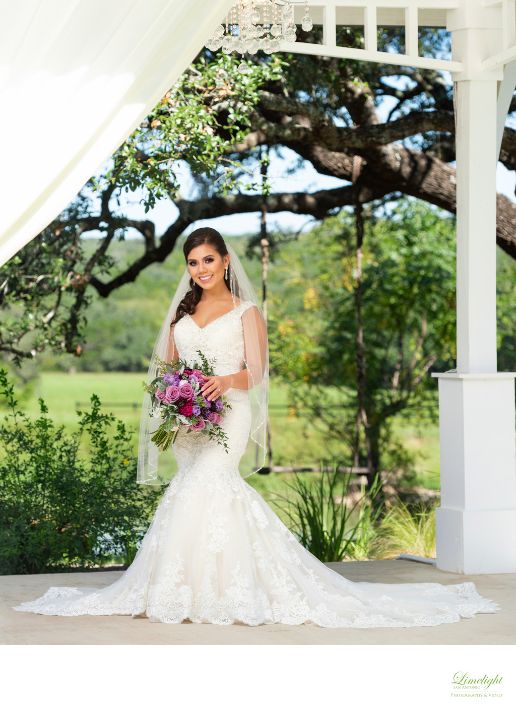 Kendall Plantation Bridal Portrait