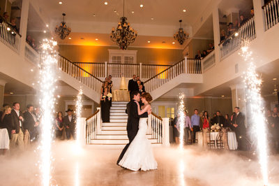 First dance at Kendall Plantation Boerne, Texas