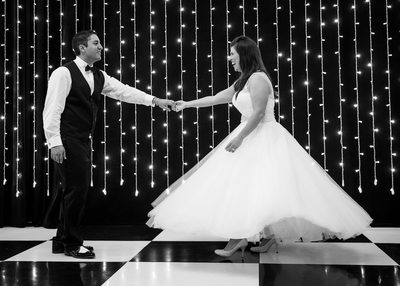 Bride and Groom's first dance at Studios at Fischer