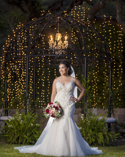 Oaks at Heavenly Bridal Portrait