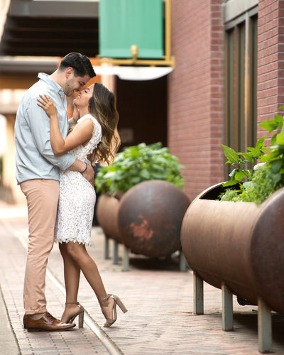 San Antonio Modern Engagement Portraits