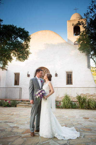 Beautiful Wedding Day Portraits at Lost Mission
