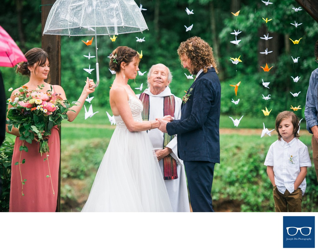 Rainy Day JuneBug Asheville Wedding