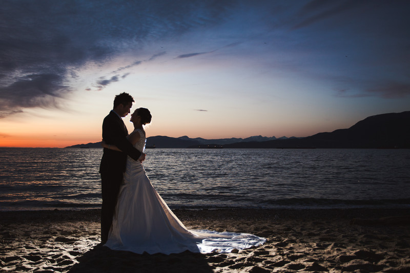 Kits Beach Wedding Photos