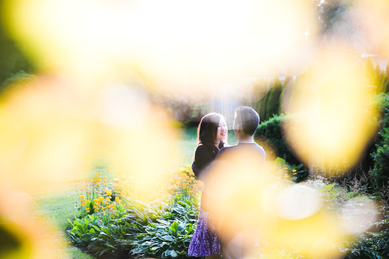 Stanley Park Fall Engagement