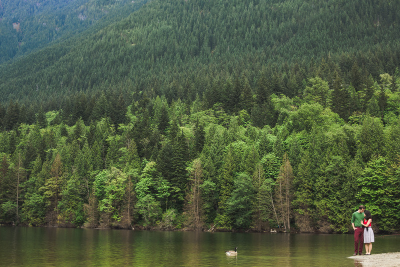 Buntzen Lake Engagement Photos