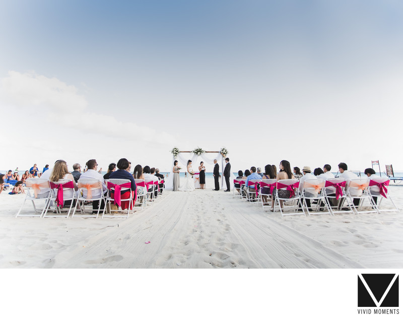 Mayan Riviera Wedding Ceremony