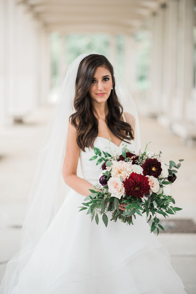 muny forest park bridal portrait st louis wedding