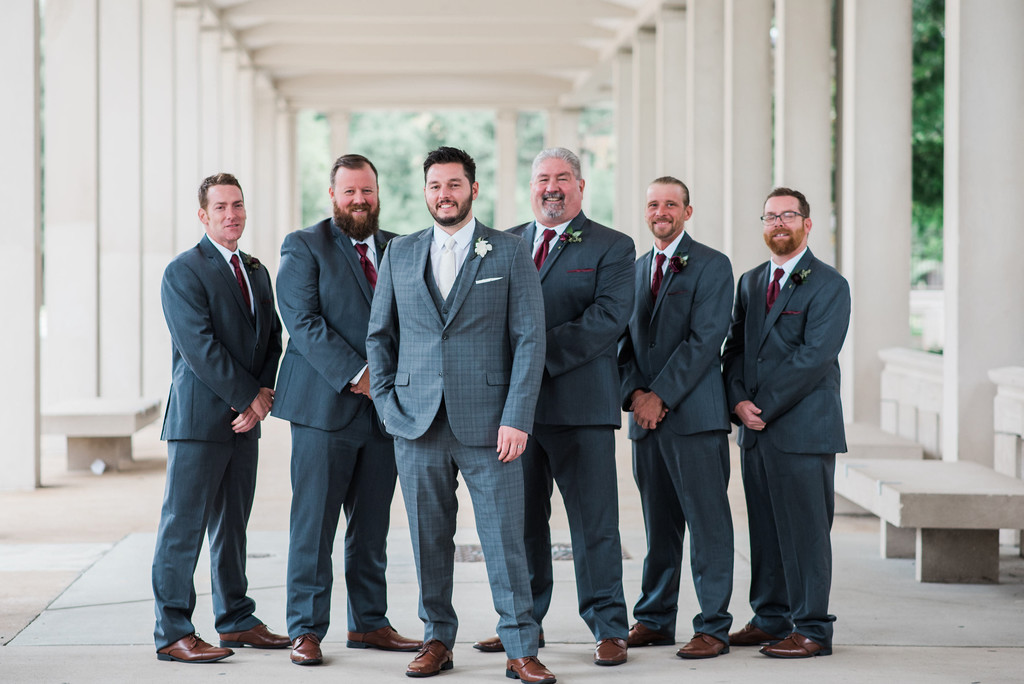 groomsmen muny forest park fashion wedding st louis
