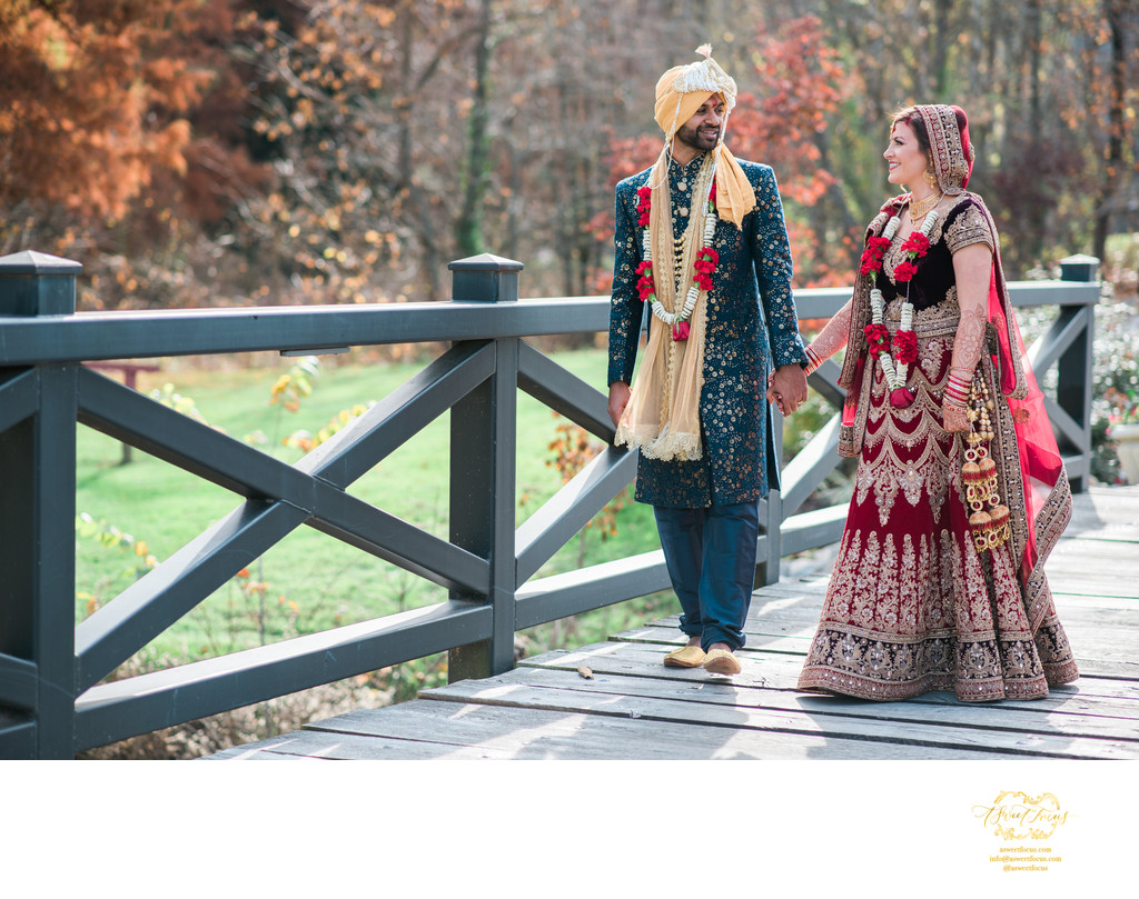indian wedding portrait inn of st albans photographer
