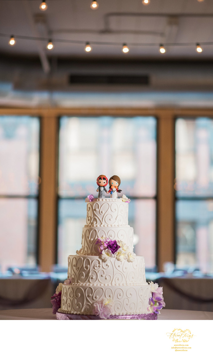 iron man star lord wedding cake topper