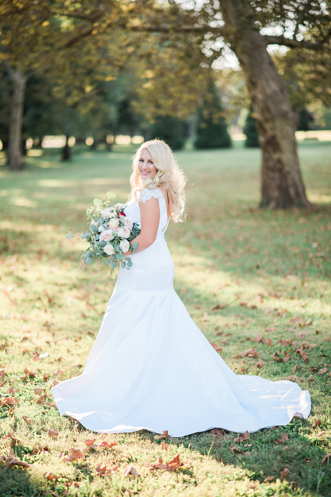 gorgeous bridal image st louis wedding photographer