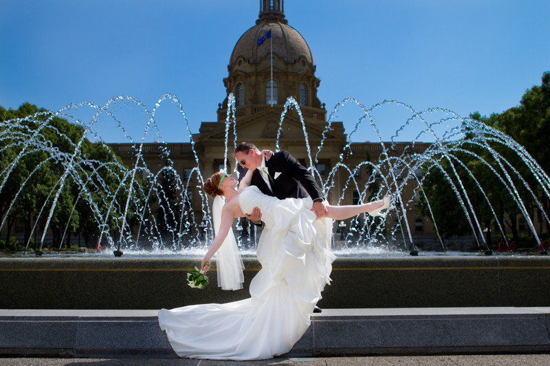 Edmonton Weddings Alberta Legislative Building
