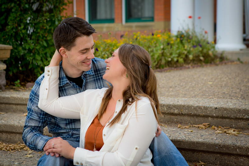 Super Fun Engagement Photographer Edmonton