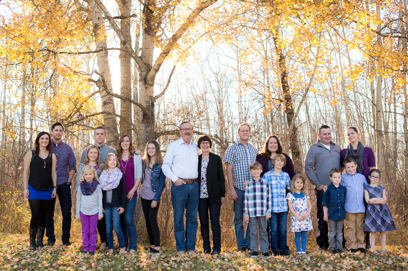 Fall Family Photos Edmonton