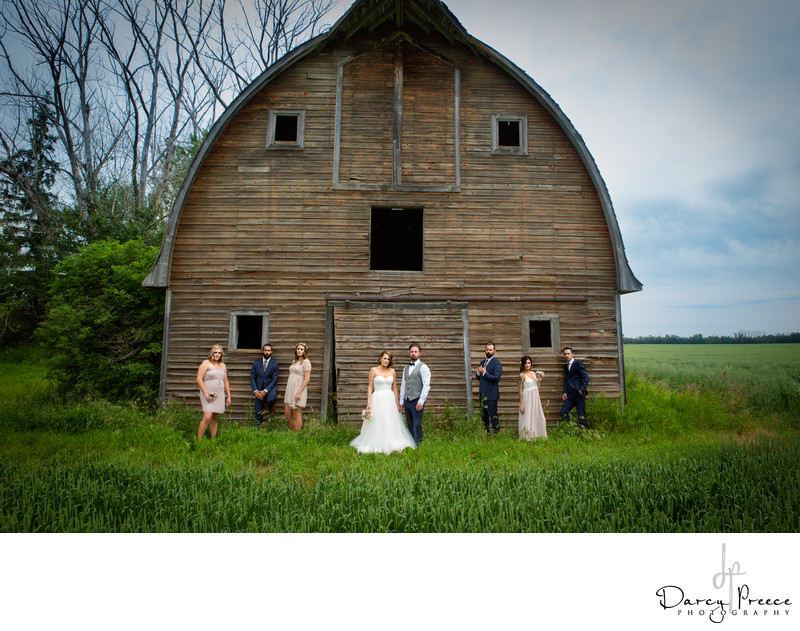 Edmonton Wedding Party Photos