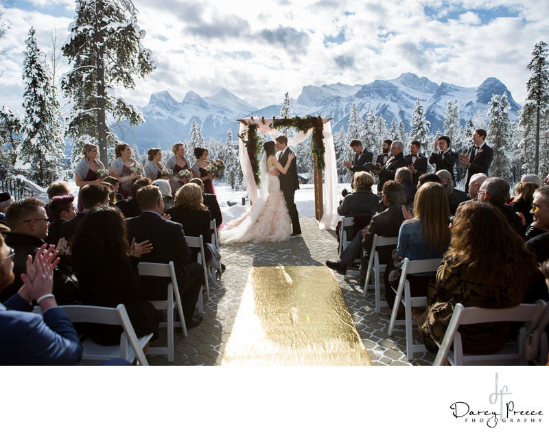 Silvertip Winter Wedding