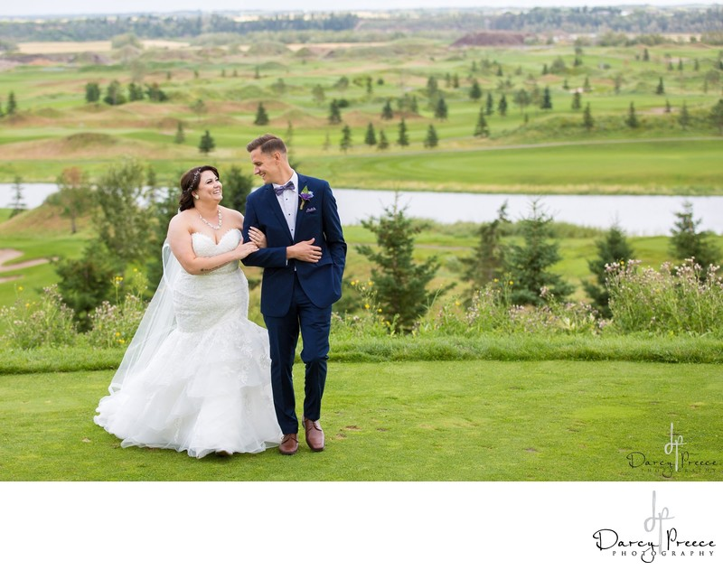 You probably don't know this about golf course weddings