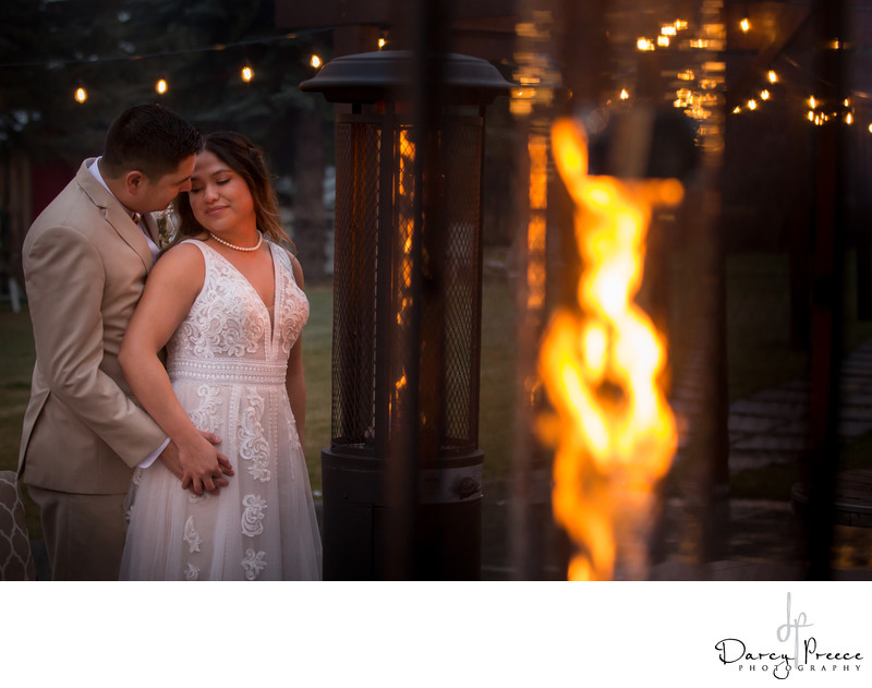 Leduc Wedding with Rustic Glam at The Whitewood Barn