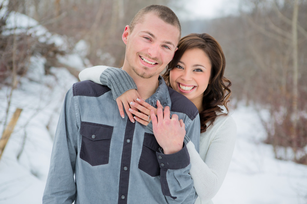 Leduc Engagement Photographer
