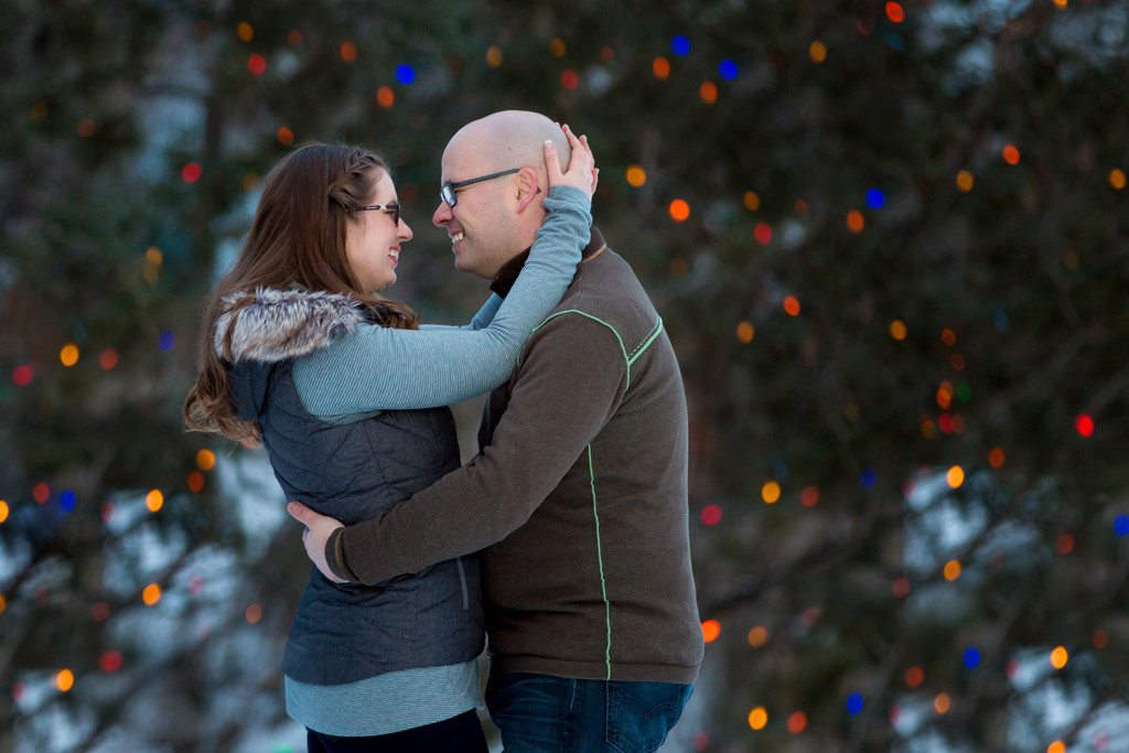 Christmas Engagement Photographer Edmonton