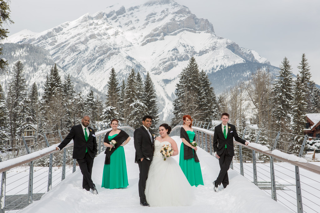 Mountain Wedding Banff