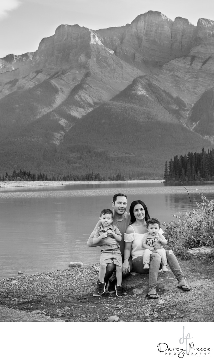 Family Portrait in Canmore