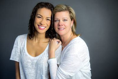Mother Daughter Portrait Edmonton