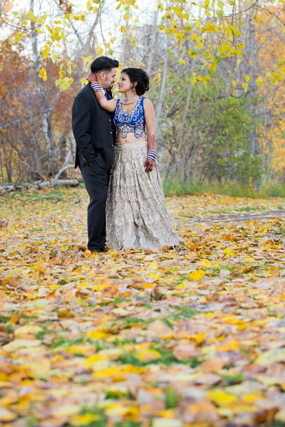 Indian Wedding Photographers Edmonton Fall Colours